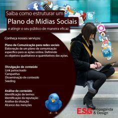 Gerenciamento de Mídias Sociais. #socialmedia http://www.esgpropaganda.com.br