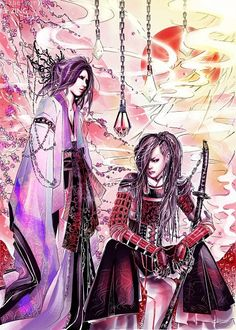 The GazettE anime fan art