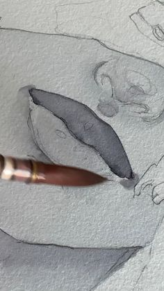 Best 12 Pencil Relaxing Drawings that you will love?Com drawing techniques Inspiration Art, Art Inspo, Watercolor Portraits, Watercolor Paintings, Watercolour Hair, Watercolor Portrait Tutorial, Sad Paintings, Watercolor Video, Unique Paintings