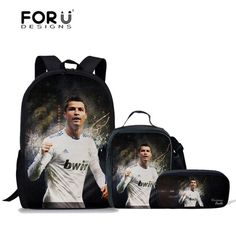 Customized Cool School Backpack Set Kids Schoolbag Foot Ball Pattern School Bags For Girls Boys Bookbag Teenager Mochila Kids Buy Now Lights & Lighting