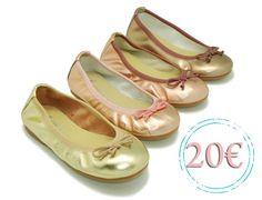 Tienda de Bailarinas de Piel Metalizada con Lazos. Disponemos de la mayor oferta del mercado de bailarinas de piel metalizada con lazos hecho en España. Envíos Gratis.