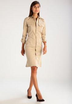 Polo Ralph Lauren - Vestido camisero - coastal beige