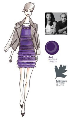 #FCRF13 Designer Inspiration: @Sachin Kamdar + Babi http://pantone.com/Fall2013