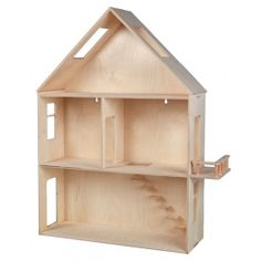 Modern, made of wood hanging house for self-assembly. There is a possibility to paint the house with paints.
