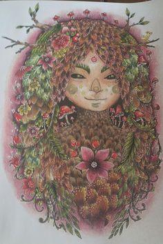 Colorist Tamara Rexroad Book Hidden Secrets Of The Enchanted Forest