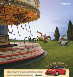 Heller, Erika - Escaping from Carousel (Honda- ad) -2d