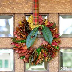 Ghirlanda autunnale fai da te * Autumn Wreath DIY