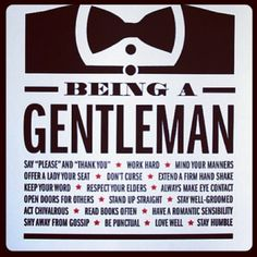 The rules! Is there any additional rules for being a #gentleman?? ... ⌚www.InstaOutfitters.com⌚ - @mensfashion- #webstagram
