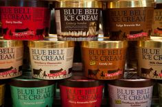 3. You know that Bluebell Ice Cream is the best ice cream ever created because the average summer high in Burlington, Vermont is 81 degrees and the average summer high in the Bronx is 85. Brenham, Texas, on the other hand, averages 96 degrees in August. What in the holy hell could Ben & Jerry's and Häagen-Dazs possibly know about hot-weather-food?