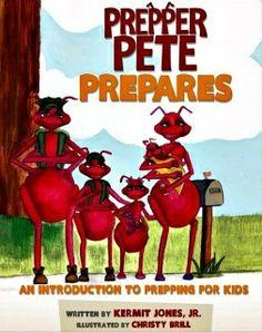 Prepper Pete Prepares | #preparedness #books #kids