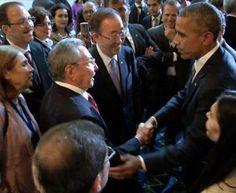 Obama incontra Raul Castro al Summit delle Americhe