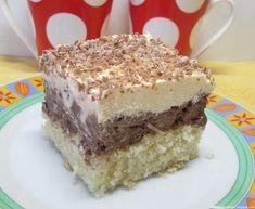 Moje pyszne, łatwe i sprawdzone przepisy :-) : Pyszne ciasto ambasador-z masą orzechowo-czekoladową i cytrynową.