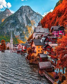 Hallstatt, Austria travel destinations 10 Most Beautiful Villages in Europe Beautiful Places To Travel, Wonderful Places, Beautiful World, Beautiful Sky, Places Around The World, The Places Youll Go, Places To Go, Austria Travel, Visit Austria