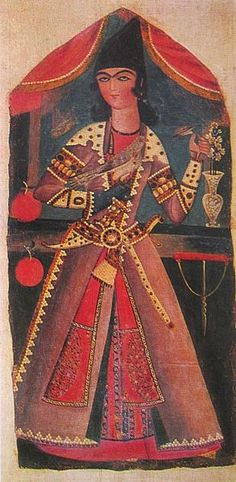 File:Young Man with Falcon (Qajar art, Art Museum of Georgia).jpg