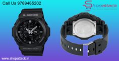 Call @ 9769465202.Shopattack.in is the leading providers of Casio GA150-1A G-Shock Military Black 3D Men's Watches are available at Rs.8035/- only after 30 % discount. Hurry before stock lasts!!!