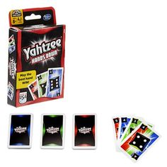 The Yahtzee Hands Down Card Game puts an interesting spin on the classic game. It's card instead of dice. Student Lounge, New Toys, Card Games, Hands, Awesome, Fun, Be Awesome, Funny, Hilarious
