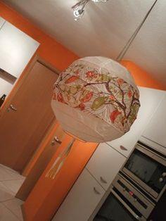 Lampen selber machen: Reispapierlampen und andere Lampenschirme aufhübschen | SoLebIch.de