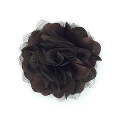 Brown Betty Snap-In Dog Bows® Collar Attachment - Best Pet Flower, Pet Harness Flower, Pet Collar Flower, Best Pet Gift, Unique Pet Flower