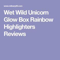 Wet Wild Unicorn Glow Box Rainbow Highlighters Reviews