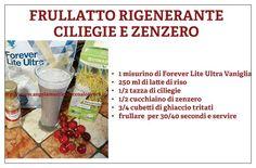 FRULLATO RIGENERANTE CILIEGIA E ZENZERO