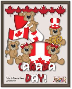 """""""Canada Day"""" Craft Cutting File/Printable Pattern Set by PaperPiecingsbyNikki.com for $8.00 Canada Day Crafts, Canada Party, O Canada, Bowser, Printables, Party Ideas, Student, Pattern, Drawings"""