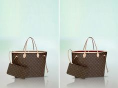 Louis Vuitton Beige and Fuchsia Monogram Canvas Neo Neverfull GM Bag