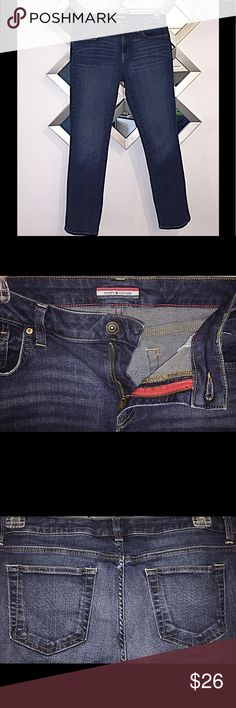 Tommy Hilfiger Jeans EUC Tommy Hilfiger straight leg jeans size 12.  Jeans are EUC, washed once but never worn. Tommy Hilfiger Jeans Straight Leg
