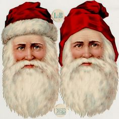 EKDuncan - My Fanciful Muse: Vintage Christmas Santa - Victorian Scraps