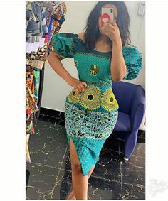 African Print Off Shoulder Midi Dress/African Clothing/African Fashion/Ankara Dr. from Diyanu - Ankara Dresses, Shirts & African Fashion Ankara, African Print Dresses, African Wear, African Attire, African Dress, African Style, African Clothes, African Lace, African Design