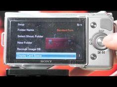 Sony Nex-5n ISO Custom Button.