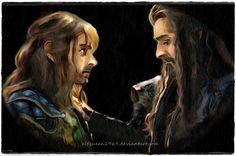 http://gorrybear.deviantart.com/art/Thorin-and-Kili-506394534