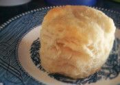 Looking for a sturdy wheat free biscuit to hold up some yummy sugar free pumpkin butter or maybe some sausage gravy? Not exactly like grandma made, but close to it for sure. And so tasty, you&#8…