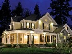 country style floor plan