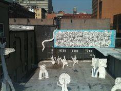 High Line zoo High Line, Murals, Street Art, Wall Paintings, Mural Painting, Wall Murals, Mural Art