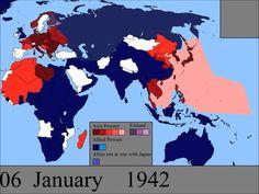 d day timeline map