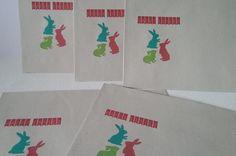 Briefumschläge - 15er Set Briefumschläge *Ostern* - ein Designerstück von kreativ-Zweisam bei DaWanda