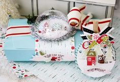 tinsel & tags... | LilyBean Paperie
