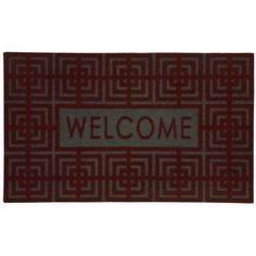 Geo Boxes Cranberry Flock 18-Inch by 30-Inch Doormat by Townhouse Rugs, http://www.amazon.com/dp/B007TUBRA6/ref=cm_sw_r_pi_dp_ao8Rqb0GBX005
