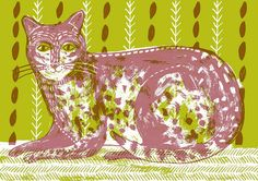 cat1flat by alice pattullo   # Pinterest++ for iPad #