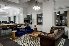 A Tour of Pernod Ricard's Elegant New NYC Office - Officelovin'