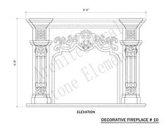 Fireplaces | Portfolio | Architectural Stone Elements Stone Fireplace Surround, Fireplace Mantels, Marble Fireplaces, Prayer Room, Modular Furniture, Stone Carving, Glass Design, Architecture Details, Custom Homes