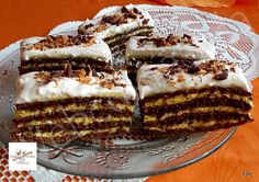 undefined Homemade Baileys, Baileys Recipes, Hungarian Desserts, Hungarian Recipes, Poppy Cake, Cake Bars, Dessert Recipes, Food And Drink, Sweets