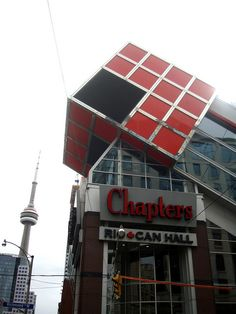 An example of very unusual architecture, Toronto, Canada
