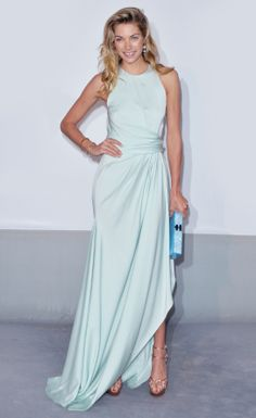 Jessica Hart in a dreamy Vionnet dress at #Cannes2014