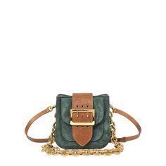 BURBERRY PRORSUM Ll Square Bag. #burberryprorsum #bags #leather