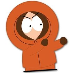 South Park Kenny McCormick fight Vynil Car Sticker Decal - Select Size