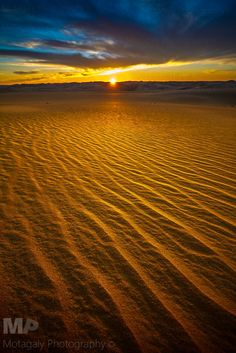 The Beauty Of Siwa Desert Sunset, Egypt by MP Works Motagaly Photography