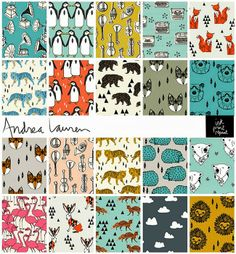 ANDREA LAUREN gorgeous prints and fabric// petitapetitandfamily.com