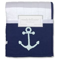 Anchor Bedding Sets List! Check out our favorite anchor comforters, quilts, duvet covers, sheets, and crib bedding sets.