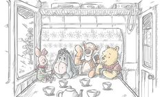 Your source for all things Winnie the Pooh since Winnie The Pooh Classic, Cute Winnie The Pooh, Winnie The Pooh Quotes, Winnie The Pooh Friends, Eeyore Quotes, Winnie The Pooh Drawing, Winnie The Pooh Pictures, Winne The Pooh, Cute Christmas Wallpaper